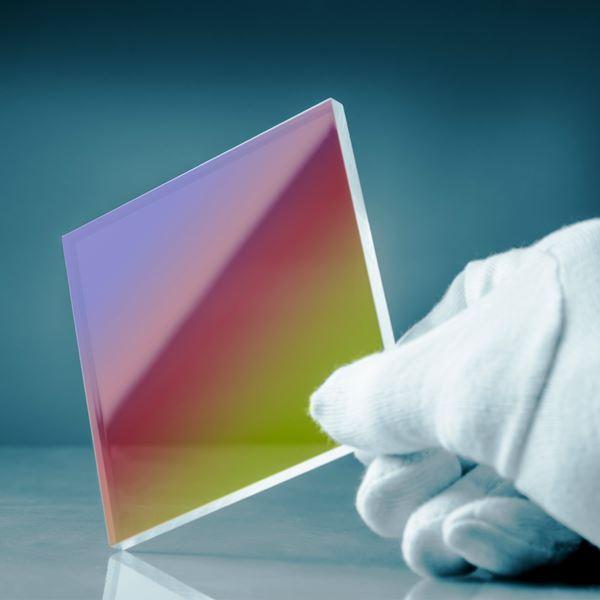 Szkło z powłoką antyodblaskową